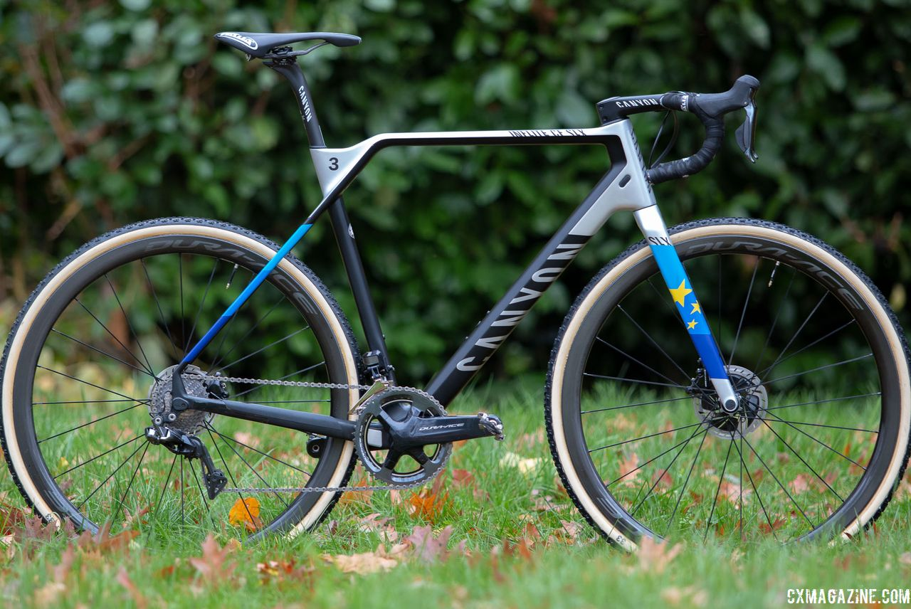 Worlds Bike: Mathieu van der Poel's Worlds-Winning Canyon Inflite CF SLX