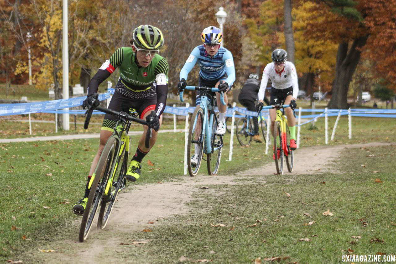 Last year's Pan-Ams were dry and fast. Similar conditions are not expected this year. 2018 Pan-American Cyclocross Championships, Midland, Ontario. © Z. Schuster / Cyclocross Magazine