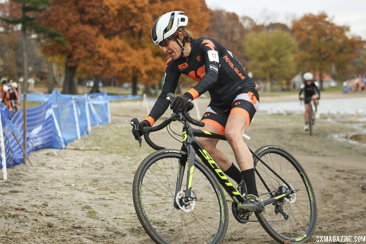 Corey Coogan Cisek has a new coach and new team for 2018/19. 2018 Pan-American Cyclocross Championships, Midland, Ontario. © Z. Schuster / Cyclocross Magazine