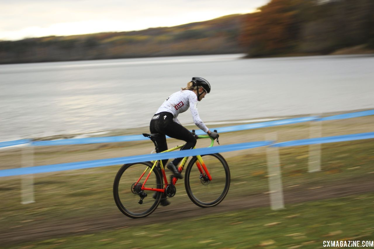 Pan-Ams took place at Midland, Ontario's Little Lake Park. 2018 Silver Goose Cyclocross UCI C2 © Z. Schuster / Cyclocross Magazine