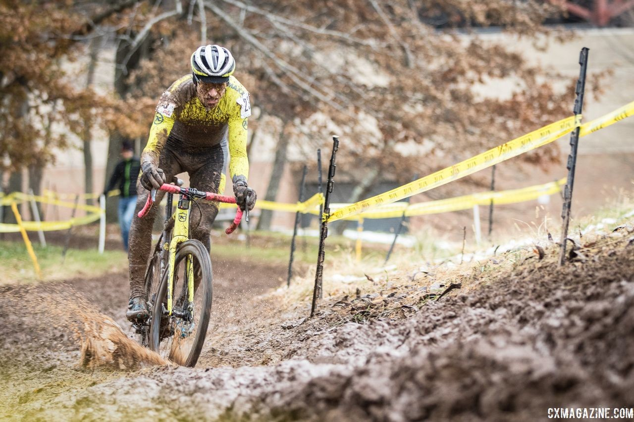 Kerry Werner heads north again this weekend for the NBX Gran Prix of Cyclocross. 2018 Rockland County Supercross Cup Day 2. © Angelica Dixon