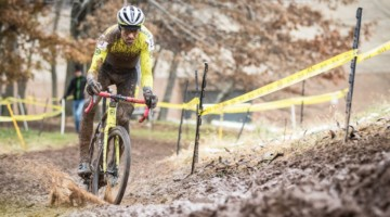 Kerry Werner described Sunday's race as a tough mudder. 2018 Rockland County Supercross Cup Day 2. © Angelica Dixon