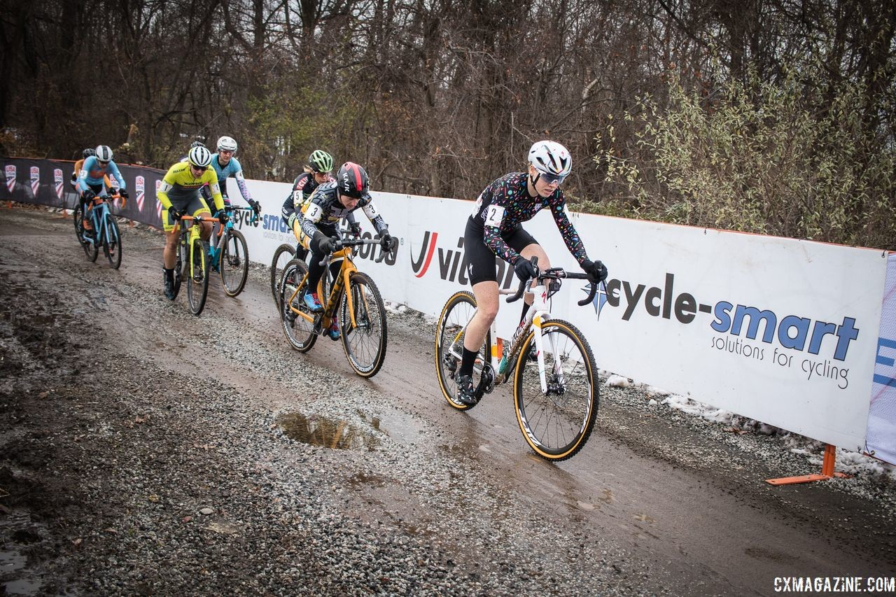 Ruby West leads the way early on. 2018 Rockland County Supercross Cup Day 2. © Angelica Dixon