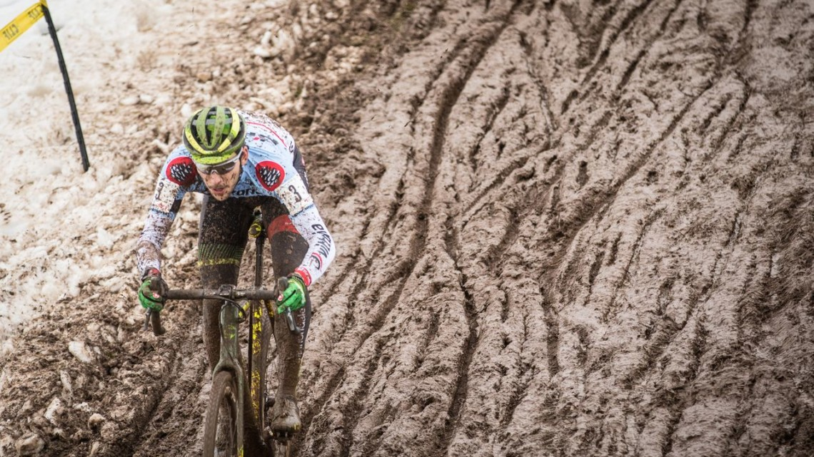 Curtis White won Day 1 of the 2018 Supercross Cup. © Angelica Dixon