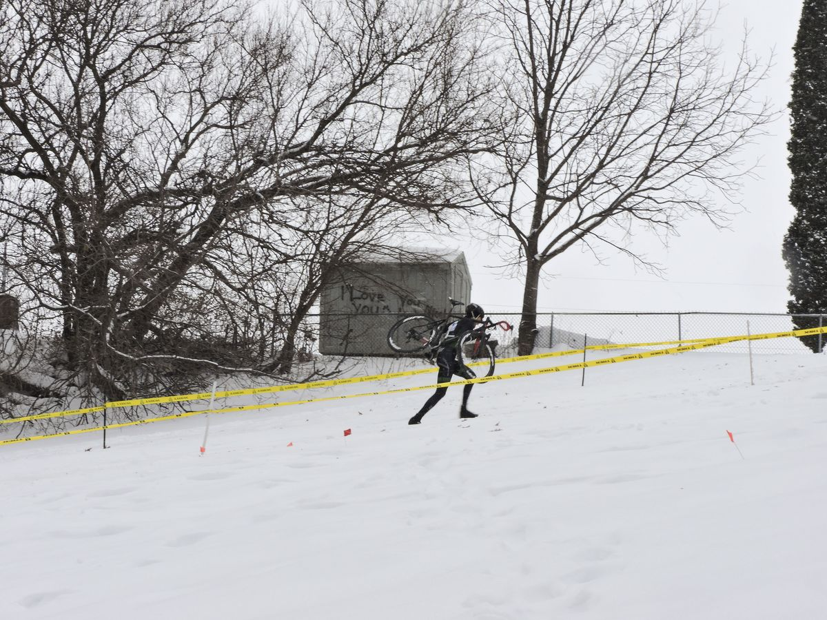 The 2016 edition of Midwest Regionals was quite snowy and hilly.