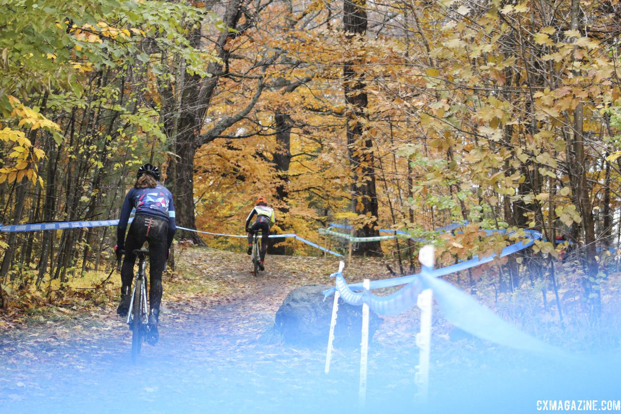 The Pan-Ams course was best shown in photos. 2018 Silver Goose CX Course Inspection, Friday. © Z. Schuster / Cyclocross Magazine