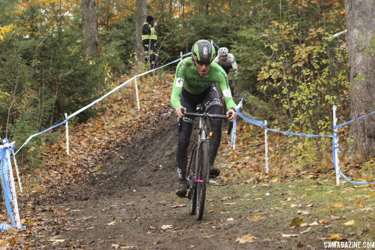 Gage Hecht won the Silver Goose CX C2 on Saturday. 2018 Silver Goose Cyclocross UCI C2 © Z. Schuster / Cyclocross Magazine