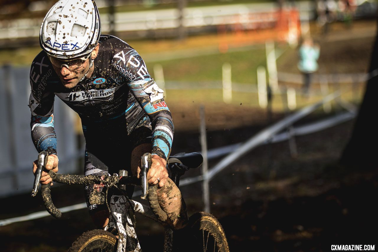 Justin Lindine added to his win total at the 2018 Really Rad Festival of Cyclocross Day 1. © Angelica Dixon