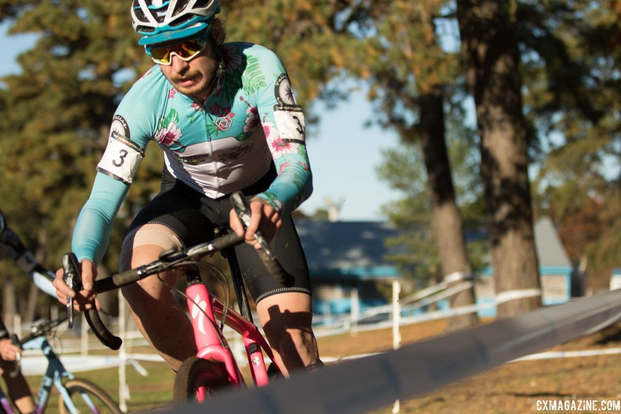 Scott Smith scored his first win of the year on Sunday. 2018 Really Rad Festival of Cyclocross Day 2. © Angelica Dixon