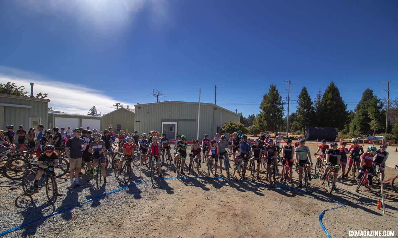 58 C women signed up to race at the 2018 Surf City p/w Rock Lobster. © A. Yee / Cyclocross Magazine
