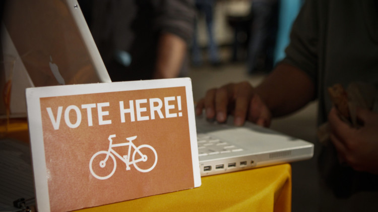 Have your say in a race that matters. Vote. photo: SF Bicycle Coalition