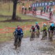 Junior Men 11-12 riders snake their way through the mud. Junior Men 11-12. 2018 Cyclocross National Championships, Louisville, KY. © A. Yee / Cyclocross Magazine