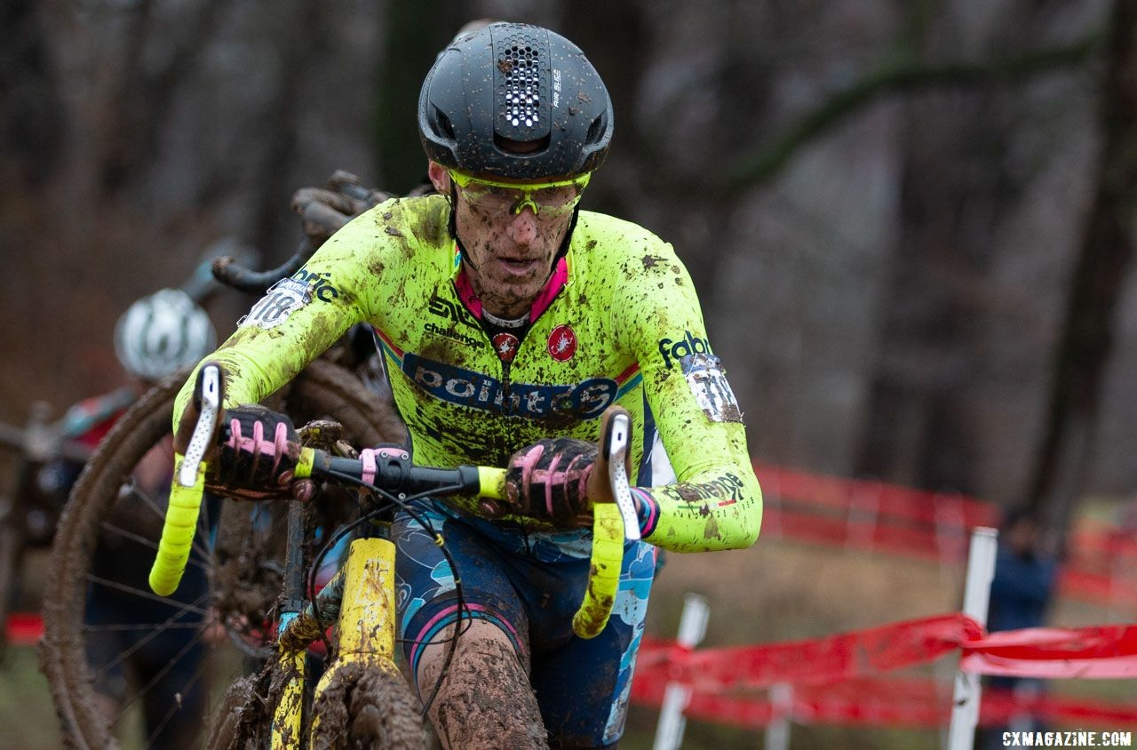 Molly Cameron fought hard but ultimately finished in 6th. Singlespeed Men. 2018 Cyclocross National Championships, Louisville, KY. © A. Yee / Cyclocross Magazine