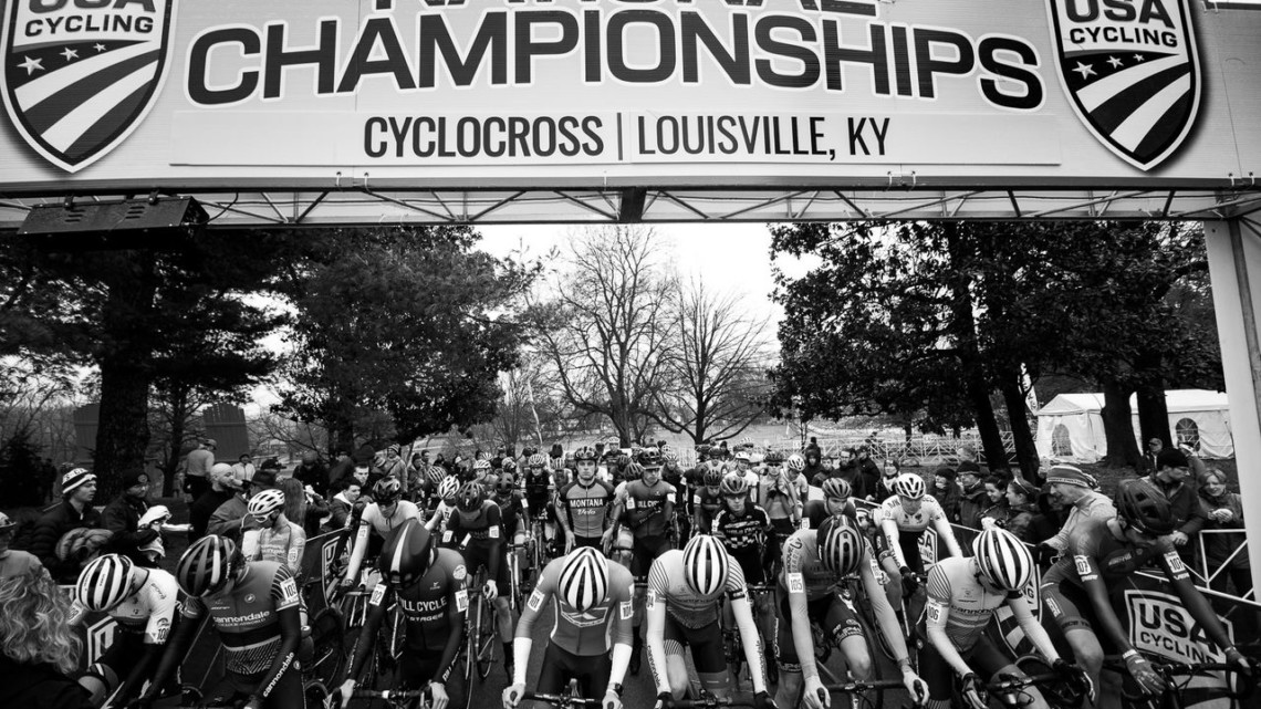 U23 Men, locked and loaded. 2018 Cyclocross National Championships, Louisville, KY. © A. Yee / Cyclocross Magazine