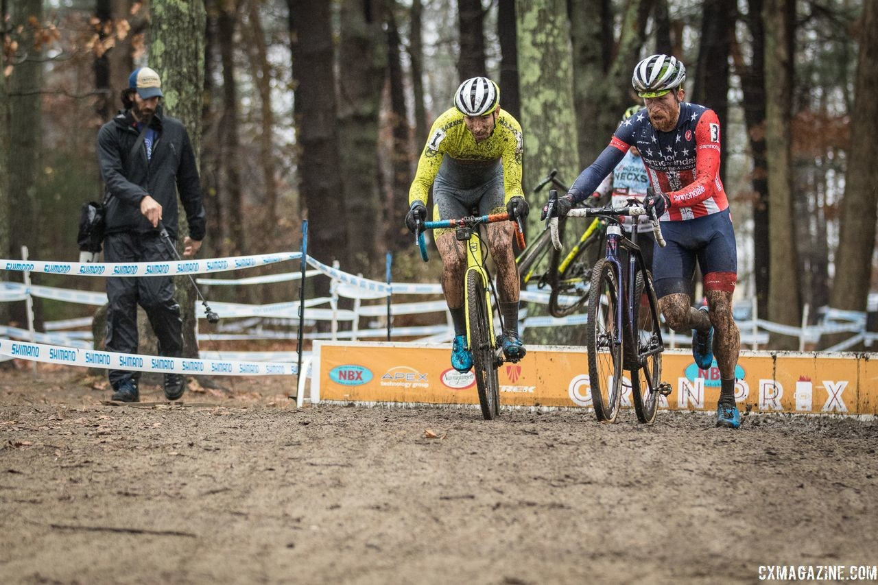 The NBX weekend brought the video media out along with the top riders. 2018 NBX Gran Prix of Cyclocross Day 2. © Angelica Dixon