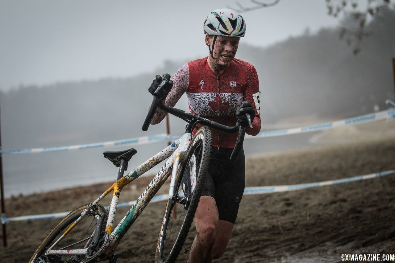 Ruby West rode strong again on Sunday. 2018 NBX Gran Prix of Cyclocross Day 2. © Angelica Dixon