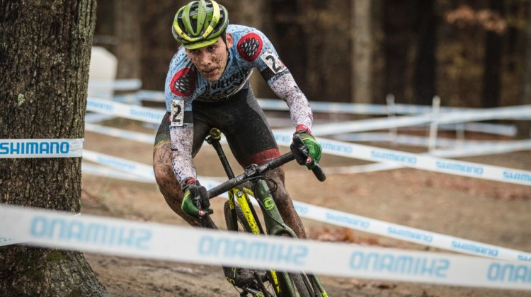 Curtis White won the 2018 Vittoria Series overall. 2018 NBX Gran Prix of Cyclocross Day 2. © Angelica Dixon