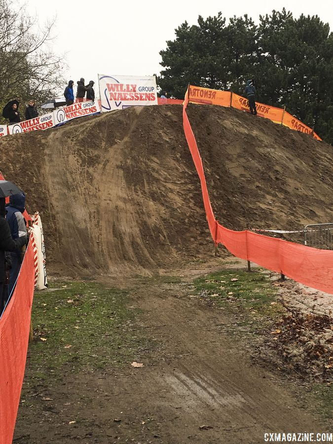 "The Hasselt ""Hill of Death."" Corey Coogan Cisek Rider Diary. © C. Coogan Cisek"