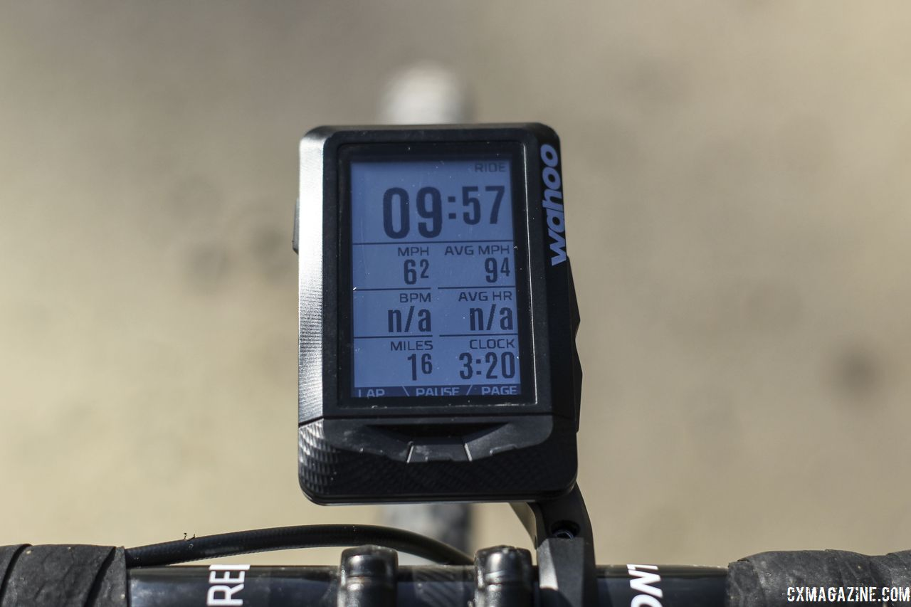 Wahoo Elemnt GPS Cycling Computer  © Z  Schuster