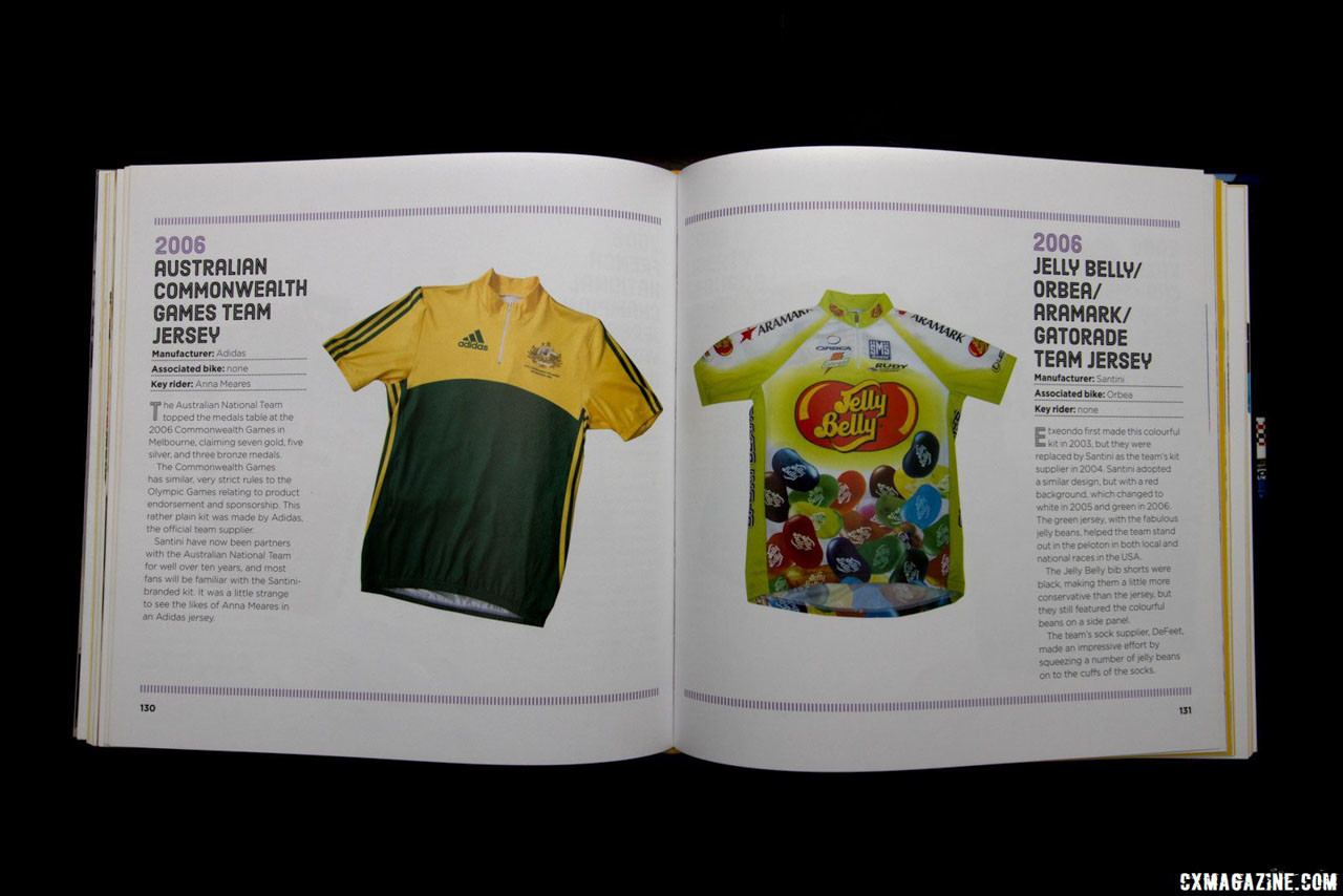 If you're into pro kits, The Art of the Jersey will offer hours of reminiscing and add color to your coffee table. Gift ideas for cyclists and cyclocrossers. © Cyclocross Magazine