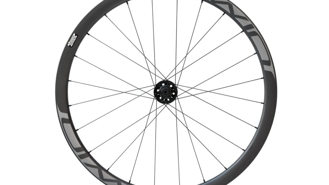 Irwin AON GX 35 Carbon Tubeless Clincher Wheelset. © C. Lee / Cyclocross Magazine
