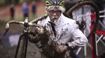 Colonel Sanders made an appearance. photo: Cyclocross Television