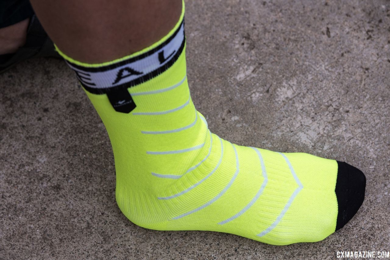 We liked the Road Thin model for 'cross. Waterproof socks, 2018 gift guide. © Cyclocross Magazine