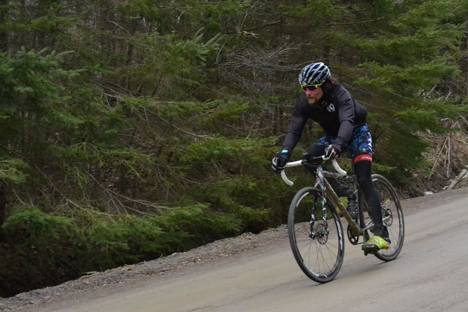 Anthony Clark will be back at the Durty Bikes Gravel Series this season. photo: courtesy