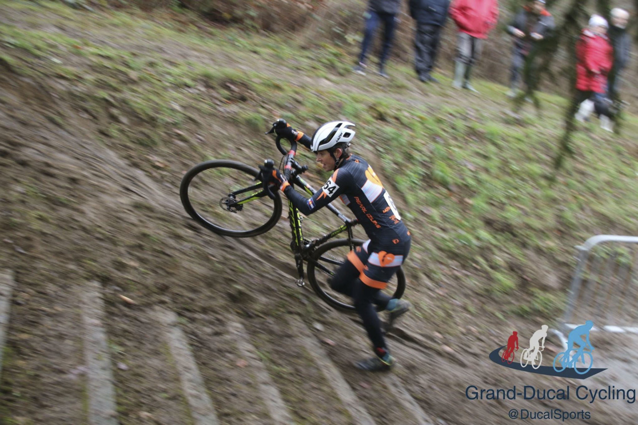 Coogan Cisek got some experience racing outside Belgium over the holidays. Corey Coogan Cisek Rider Diary © Grand Ducal Cycling Photography