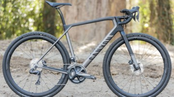 Canyon Grail CF SLX 8.0 Gravel Bike. © C. Lee / Cyclocross Magazine