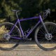 The Purple People Pleaser: Chumba's Terlingua steel cyclocross/gravel bike. © A. Yee / Cyclocross Magazine