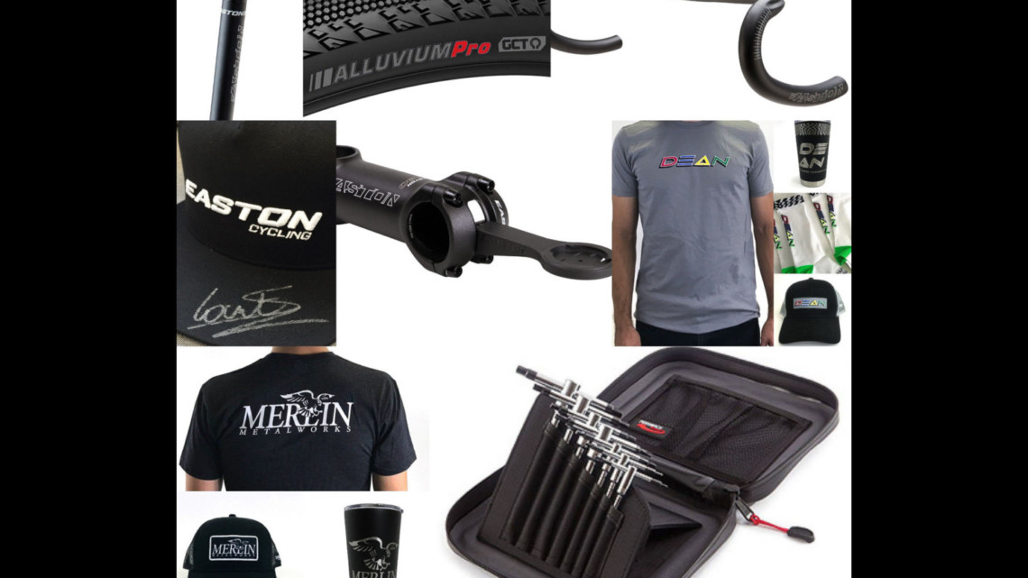 There's a whole lot of loot from Easton, Feedback Sports, Kenda, Merlin and Dean available to Cyclocross Magazine's Fantasy Worlds game winners.