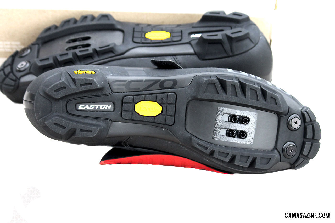 71eabb0ce4c041 The Code Techlace's Easton EC70 sole is complimented by a Vibram rubber  outsole that provides ample