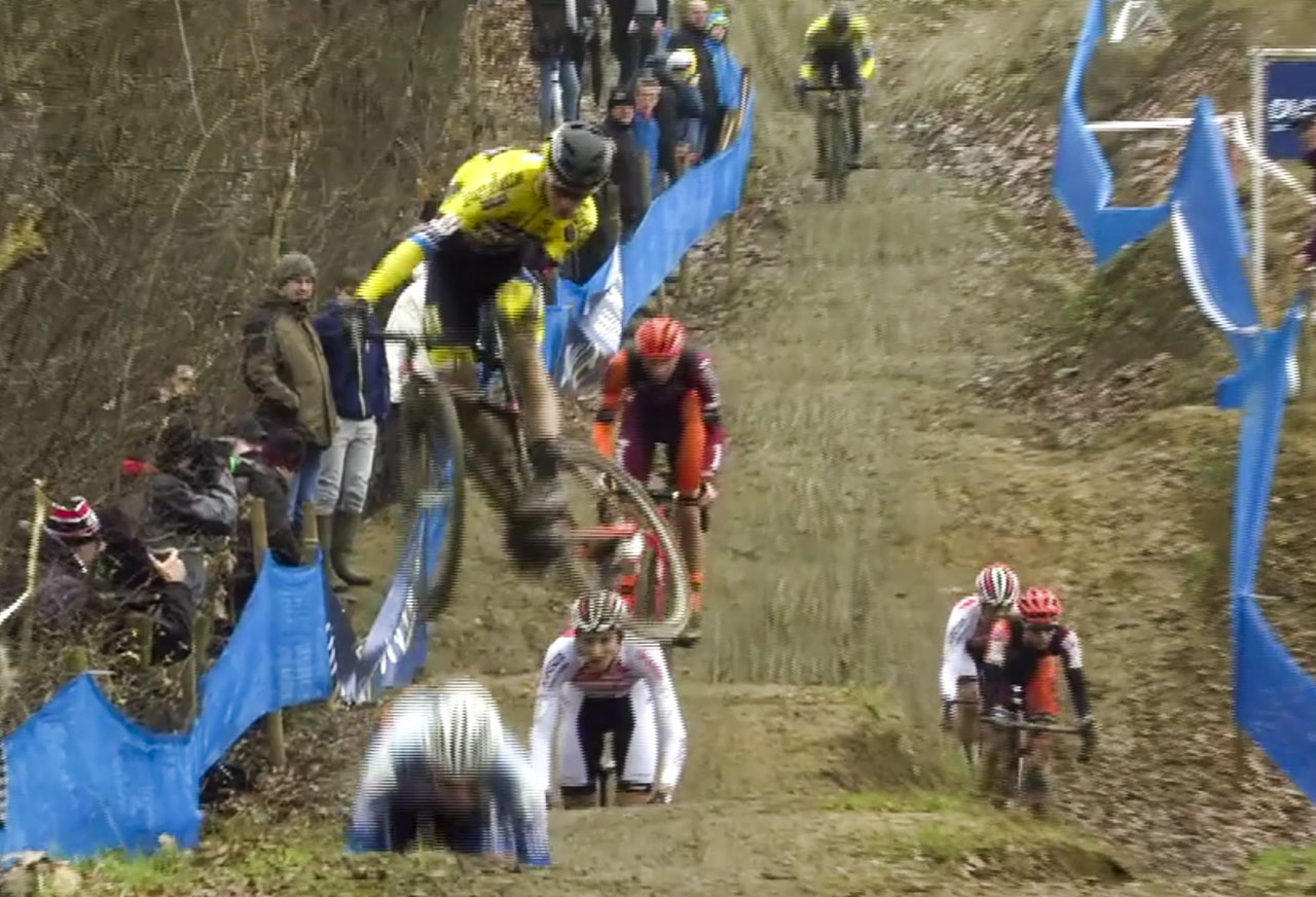U23 Men put on a show. 2019 GP Sven Nys.