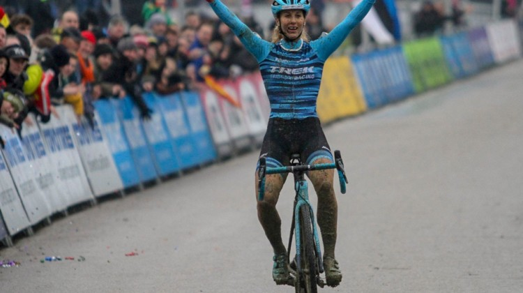 Jolanda Neff starts 2019 off with a bang at GP Sven Nys in Baal. © B. Hazen / Cyclocross Magazine