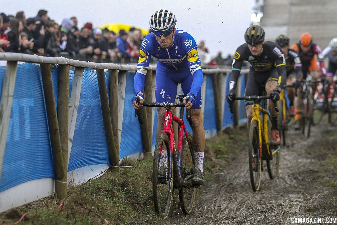 Zdenek Stybar did a few cyclocross races during Kerstperiode. 2019 GP Sven Nys, Baal. © B. Hazen / Cyclocross Magazine