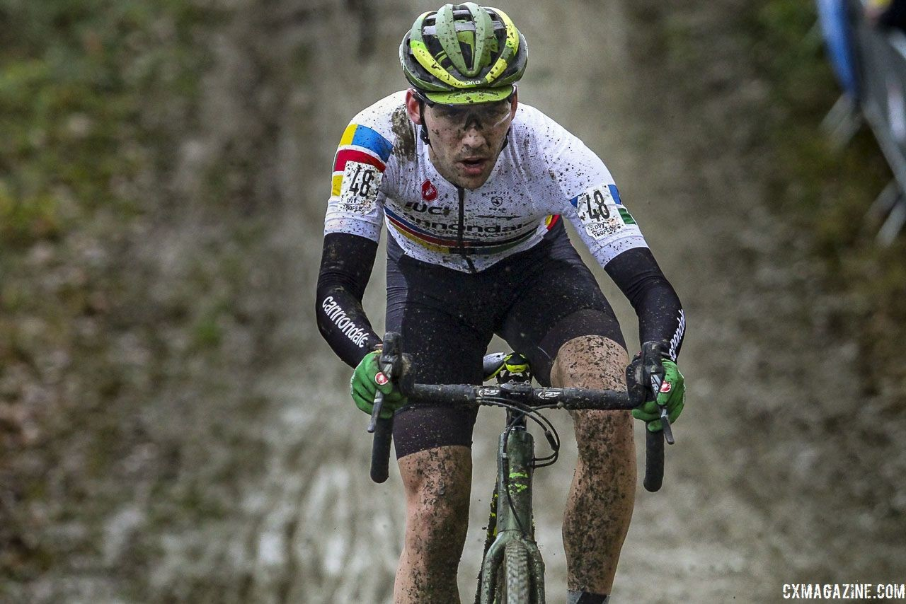 Curtis White had a cyclocross season to remember. 2019 GP Sven Nys, Baal. © B. Hazen / Cyclocross Magazine