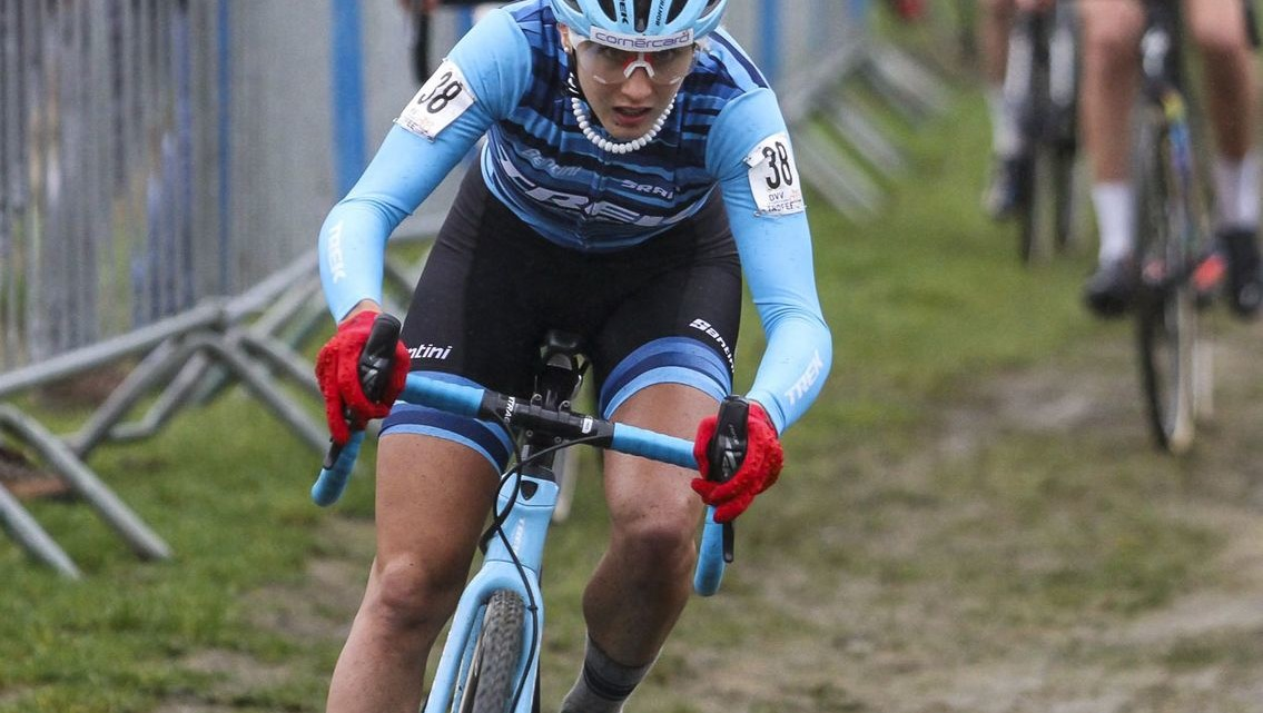 Jolanda Neff was a fast starter and fast finisher, winning the GP Sven Nys. 2019 GP Sven Nys, Elite Women - DVV Verzekeringen Trofee. © B. Hazen / Cyclocross Magazine