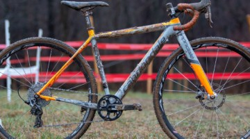 George Frazier's Junior Men 11-12 winning bike. 2018 Cyclocross National Championships V2. Louisville, KY. © Cyclocross Magazine