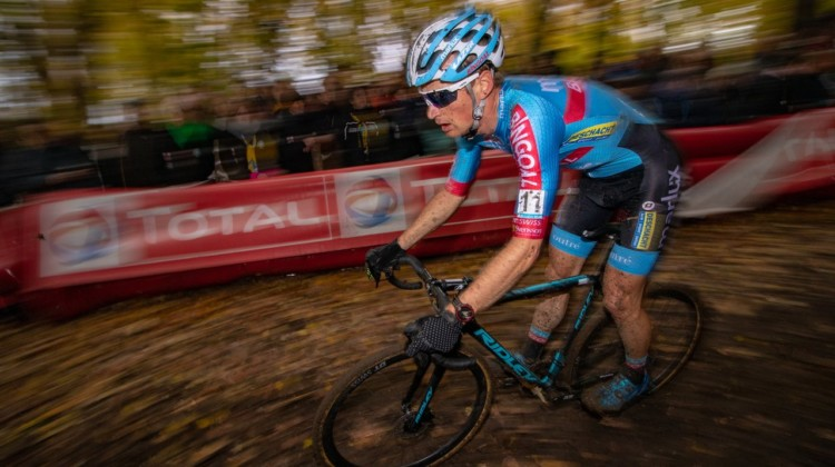 Kevin Pauwels, 2018 Superprestige Gavere. © A. Yee / Cyclocross Magazine