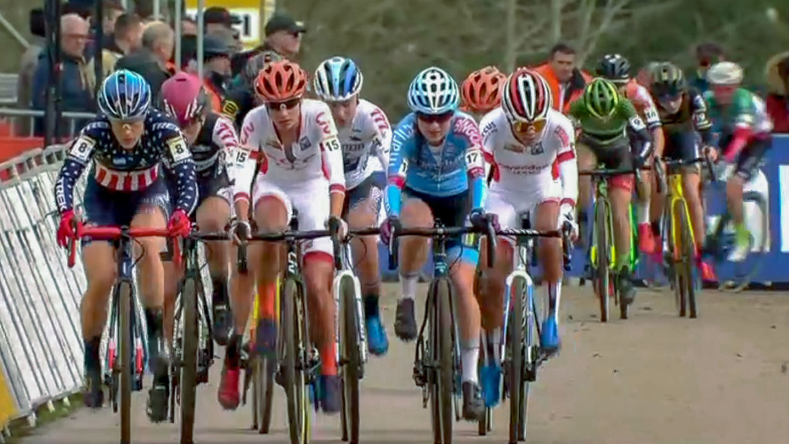 2019 UCI Cyclocross World Cup Pont-Château, Elite Women