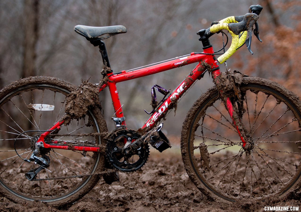 Miller Reardon's Redline Conquest 24. 2018 Cyclocross National Championships, Louisville, KY. © A. Yee / Cyclocross Magazine