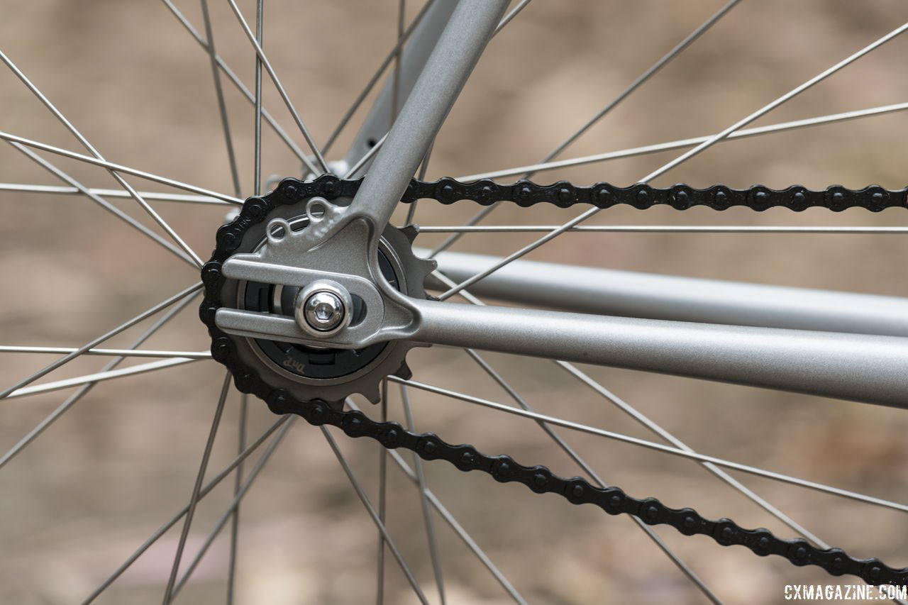 Our bike came with a 19t freewheel. Wabi Thunder Steel Singlespeed Bike. © C. Lee / Cyclocross Magazine