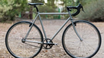 Wabi Thunder Steel Singlespeed Bike. © C. Lee / Cyclocross Magazine