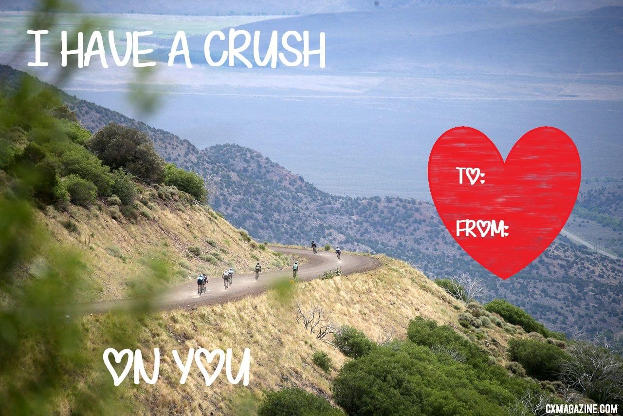 2019 Cyclocross Magazine CX Love Valentines. © C. Fegan-Kim / Cyclocross Magazine