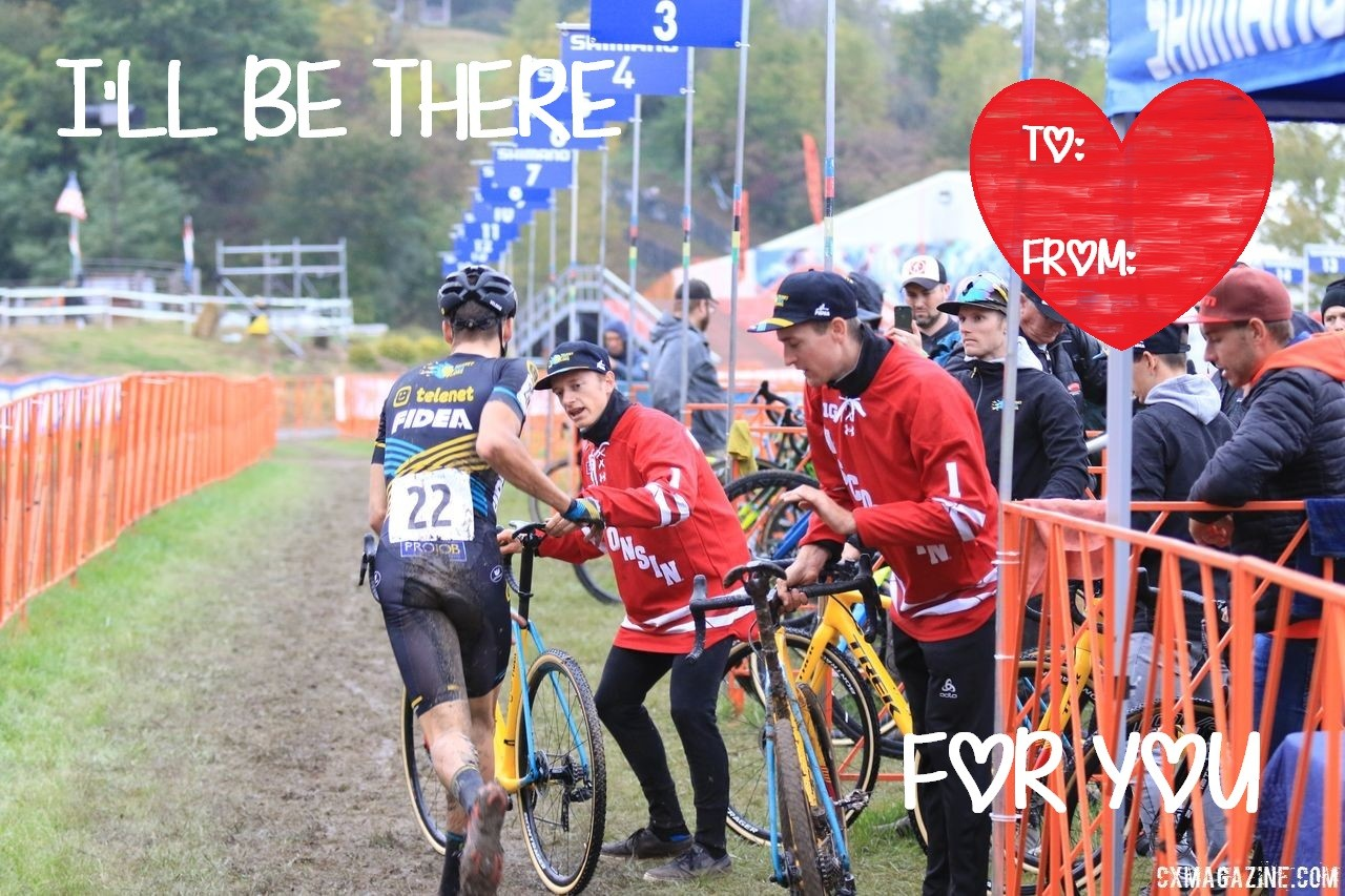 2019 Cyclocross Magazine CX Love Valentines. © D. Mable / Cyclocross Magazine
