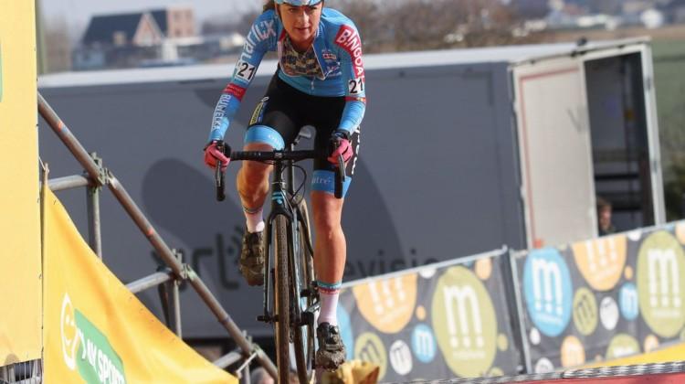 Denise Betsema. 2019 Telenet Superprestige Noordzeecross Middelkerke. Elite Women. © B. Hazen / Cyclocross Magazine