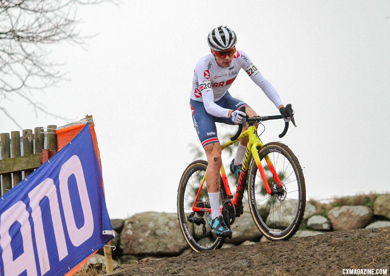 Pidcock got redemption for his disappointing ride last year at Worlds. U23 Men, 2019 Cyclocross World Championships, Bogense, Denmark. © Cyclocross Magazine