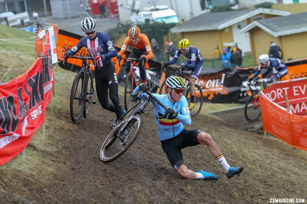 U23 Men, 2019 Cyclocross World Championships, Bogense, Denmark. © Cyclocross Magazine
