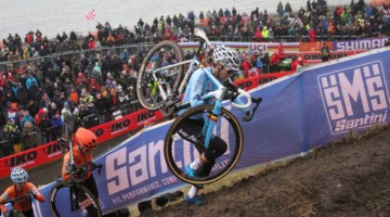 Elite Women. 2019 Cyclocross World Championships, Bogense, Denmark. © B. Hazen / Cyclocross Magazine
